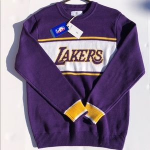 Hillflint NBA collaboration Lakers knit